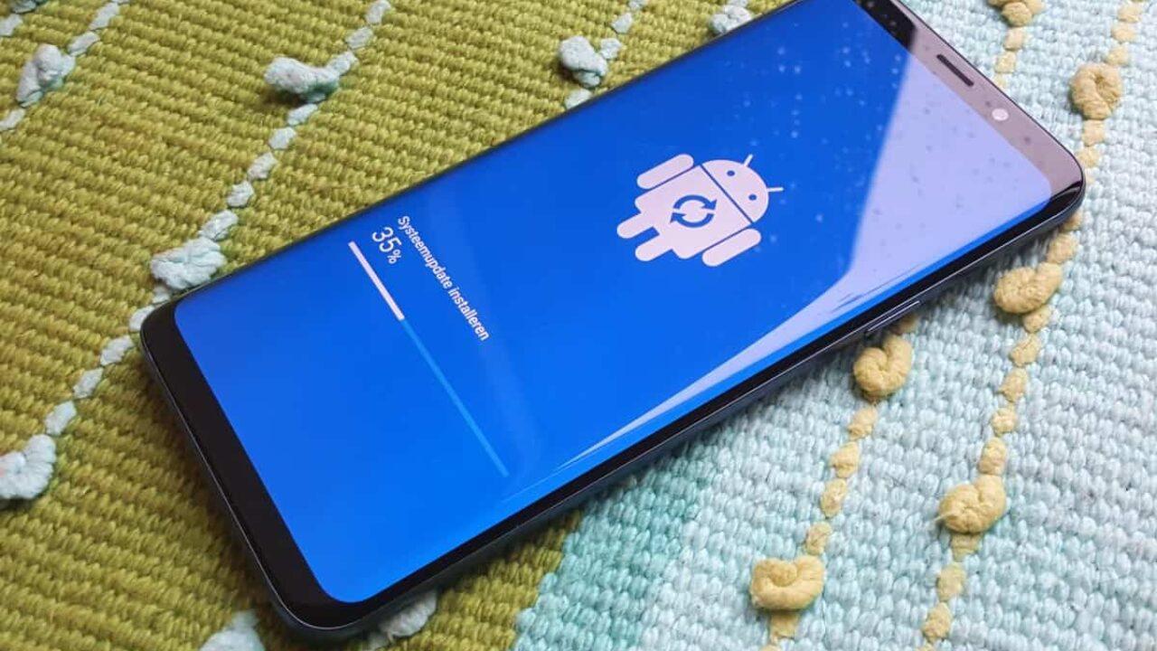 Samsung Galaxy S9 update december bereikt nu ook Nederland