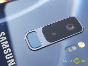 galaxy a6 camera optische zoom