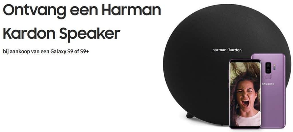 galaxy s9 gratis harman kardon speaker
