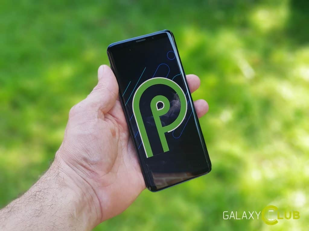 samsung galaxy s9 android 9.0 pie beta