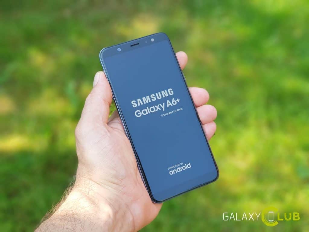 samsung galaxy a6 plus hands on preview