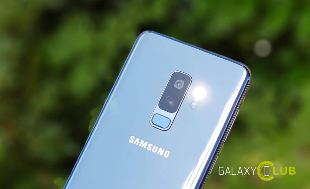 samsung galaxy s9 camera scene optimalisatie