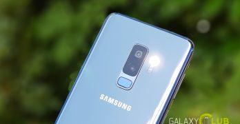 samsung galaxy s9 tweede update november voor betere camera