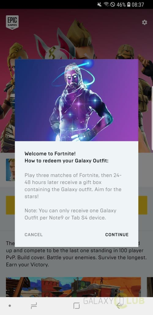 Samsung Galaxy Note 9: zo krijg je de Galaxy skin in Fortnite