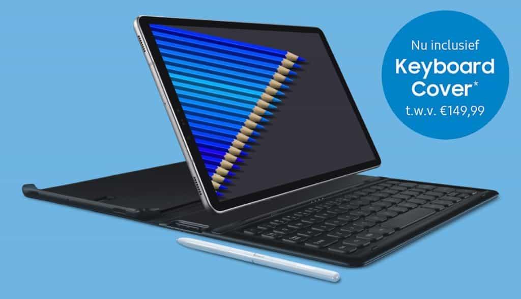 Samsung Galaxy Tab S4 Met Gratis Keyboard Cover Tijdens Pre Order