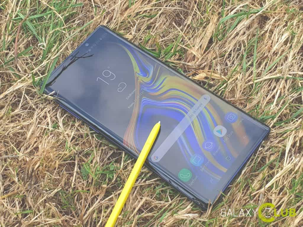 samsung galaxy note 9 android 10 test