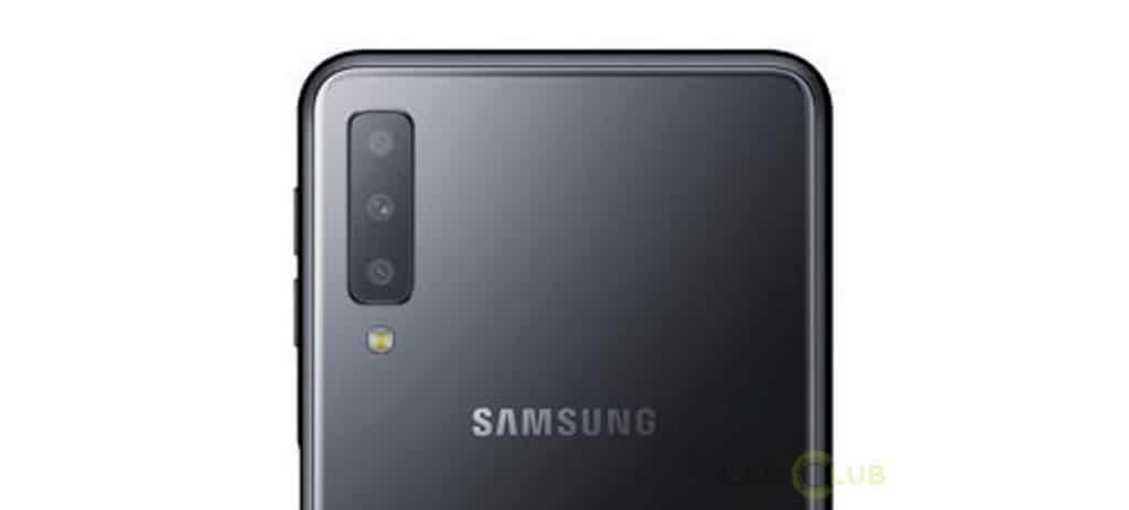 samsung galaxy a7 2018 triple camera