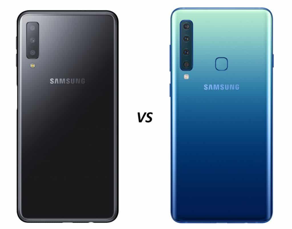 samsung galaxy a7 vs galaxy a9 vergelijking en verschillen