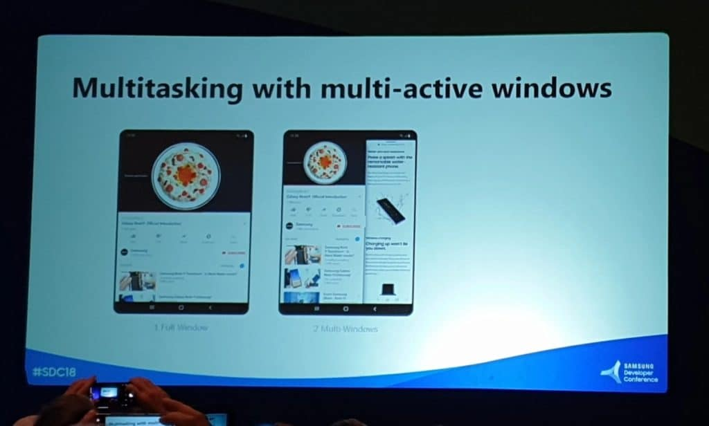 samsung galaxy f multi active windows