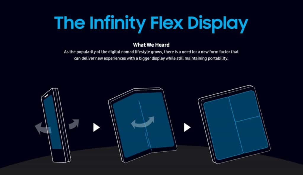 samsung infinity flex officieel