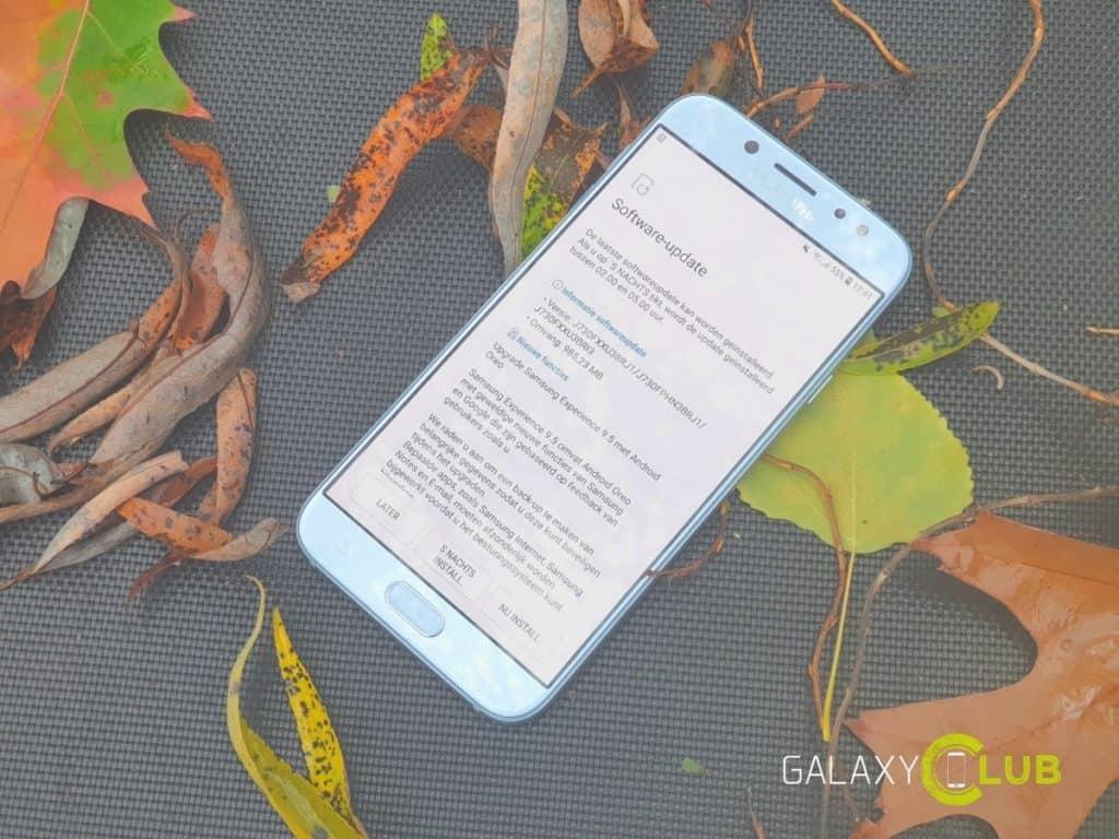 samsung galaxy j7 2017 update android 8.1 oreo nederland