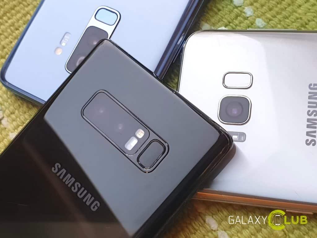 samsung galaxy s8 s9 note 8 wifi certificatie met android 9.0 pie