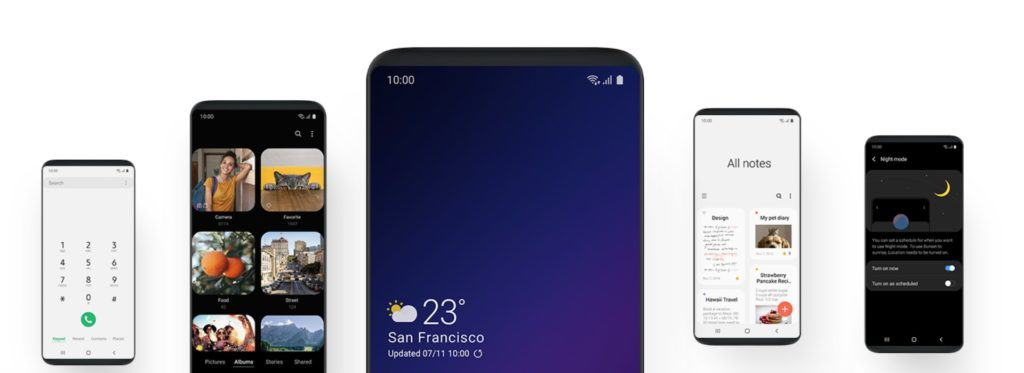 samsung one ui galaxy s9 beta