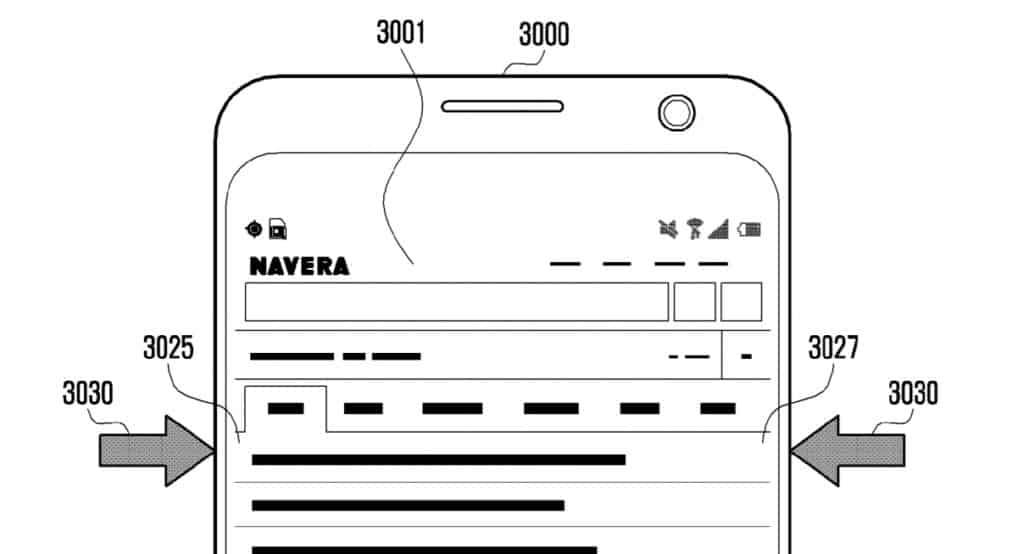 samsung knijp patent