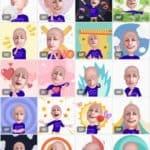 samsung a6 plus ar emoji instellen 4