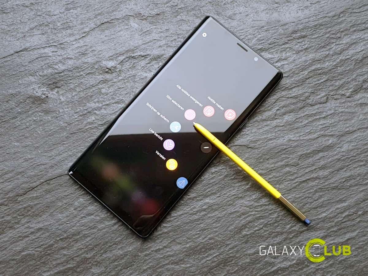 Samsung Galaxy Note 9 krijgt Android 9 Pie update in Nederland