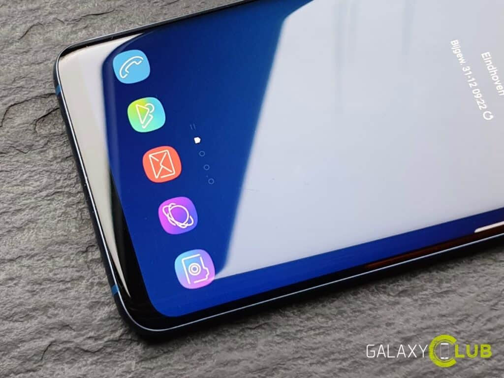 samsung galaxy s9 pictogrammen na android 9.0 pie update