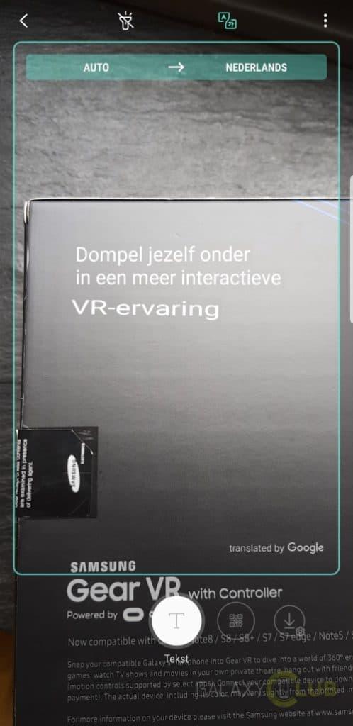 Bixby Vision: vertalen met de camera van je Samsung Galaxy S9, S8, Note