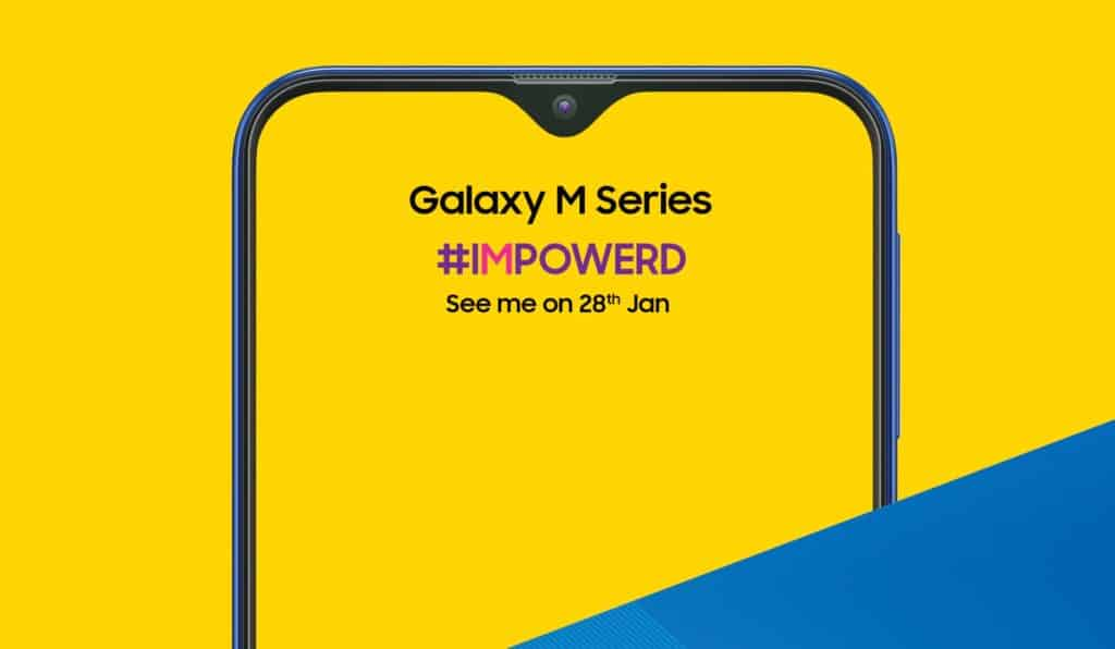 samsung galaxy m20 features teaser