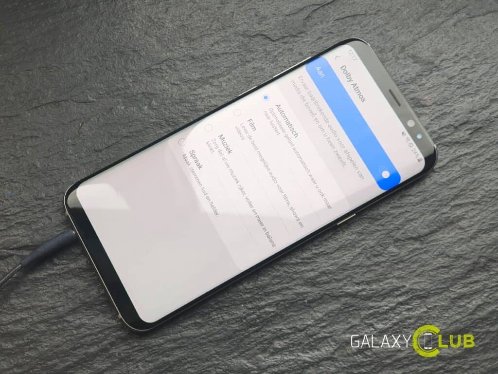 samsung galaxy s8 android 9 dolby atmos