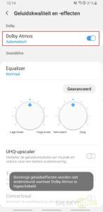 galaxy s8 Geluidseffecten in Android 9
