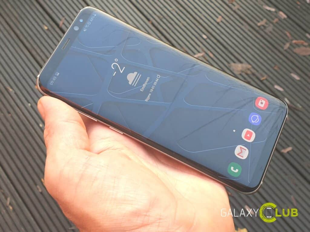 samsung galaxy s8 android 9 one ui preview
