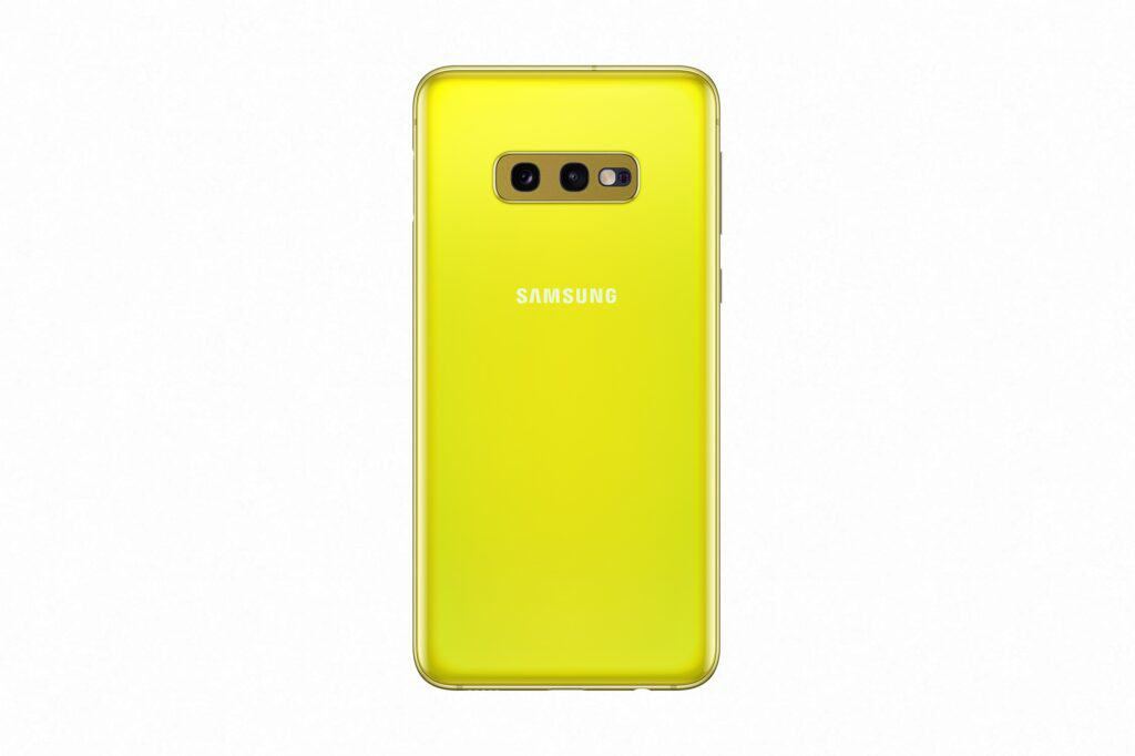 samsung galaxy s10e geel 1