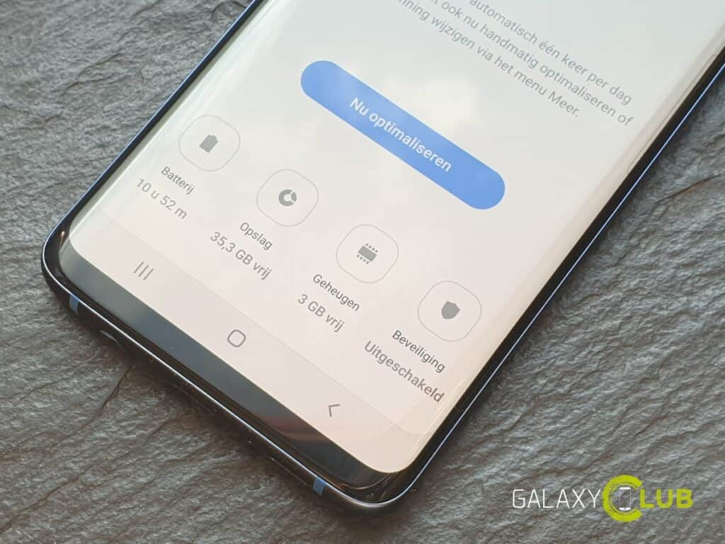 Samsung Galaxy en de Android 9: bugs in apps oplossen na de update