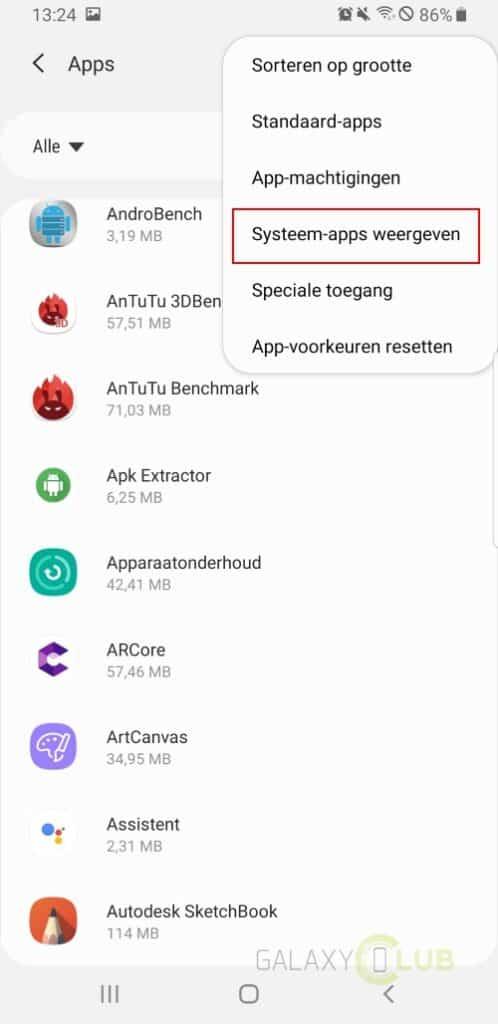 Zwarte aansluiting apps