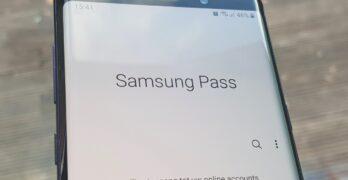 samsung pass werkt niet meer: tip, oplossing galaxy s9 en s8