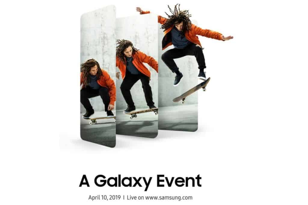 samsung galaxy a 2019 evenement