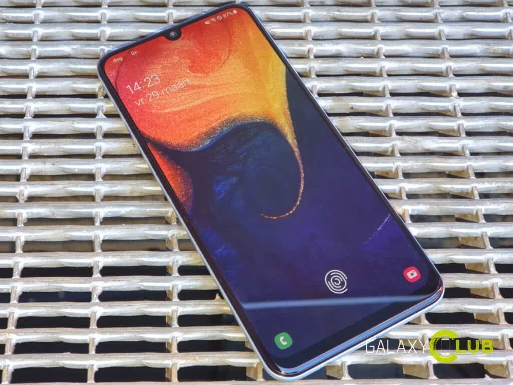 samsung galaxy a50 update juni juli 2019