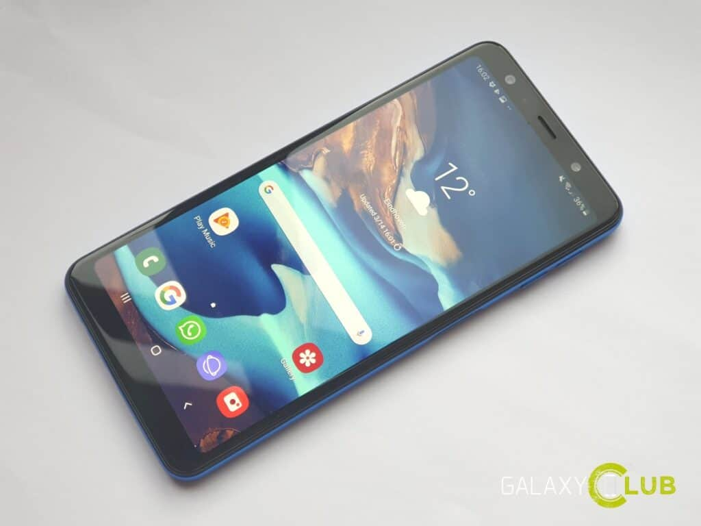 samsung galaxy a7 android 9 pie one ui preview