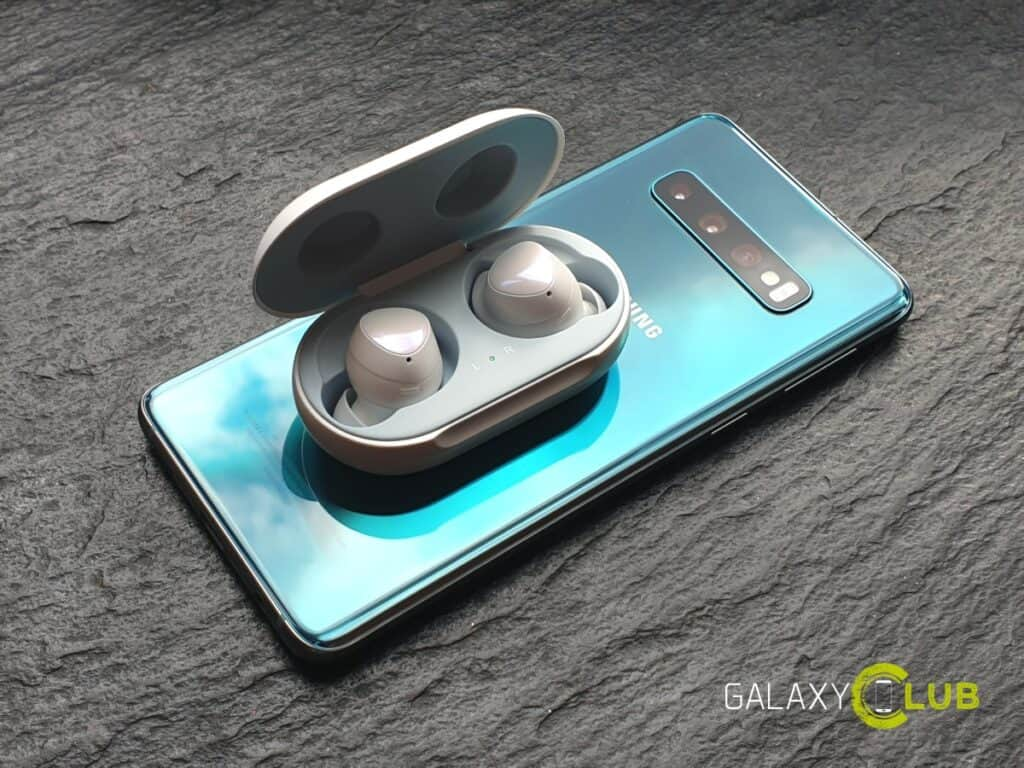 samsung galaxy buds update bediening bixby
