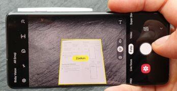 Samsung Galaxy S10 camera tip document scannen