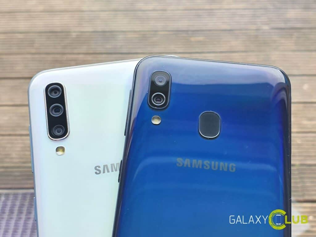 samsung galaxy a50 en a40 android 10 test