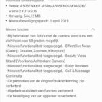 galaxy a50 update april mei 2019 changelist a505fnxxu1asd6