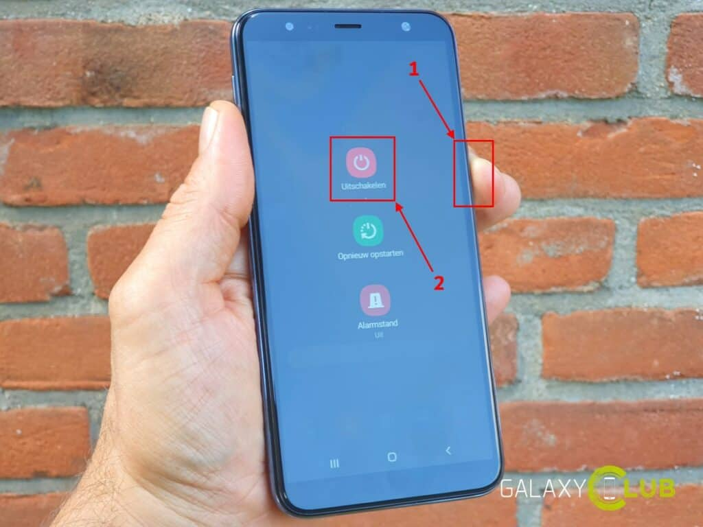 Galaxy J4 of J6 Plus camera werkt niet na Android 9 update