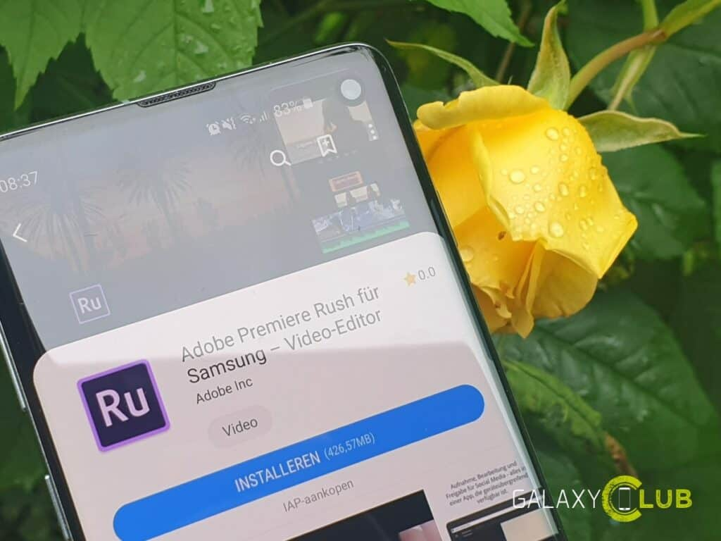 samsung galaxy s10 s9 note9 video tip adobe premiere rush