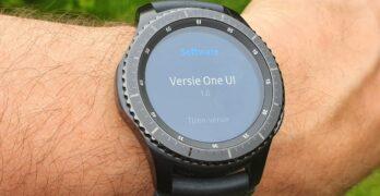samsung smartwatch one ui update galaxy gear s3 sport