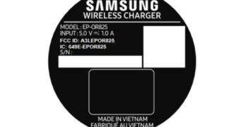 galaxy watch 2 charging cradle fcc label