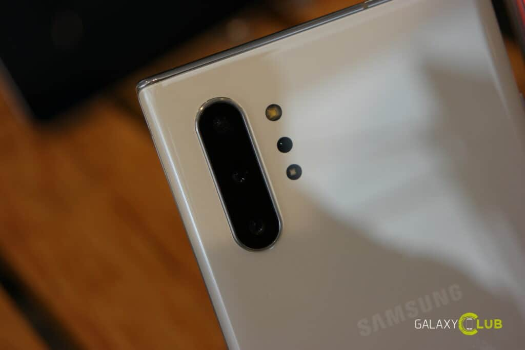 samsung galaxy note 10 camera nacht modus zoom front
