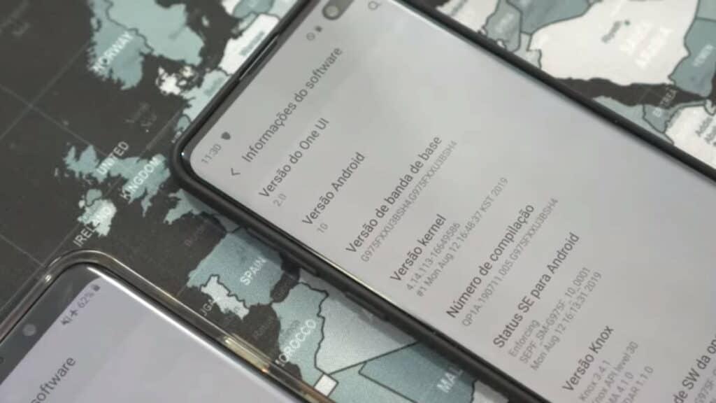 samsung galaxy s10 met android 10 en one ui 2.0