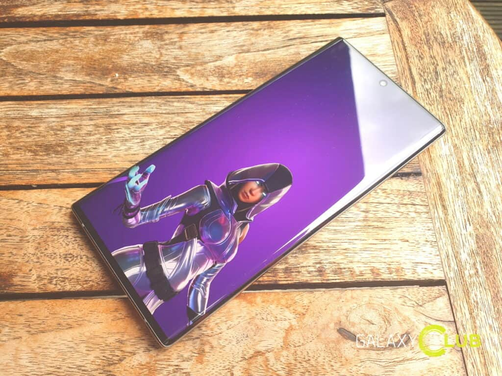 samsung fornite glow skin galaxy s10 note