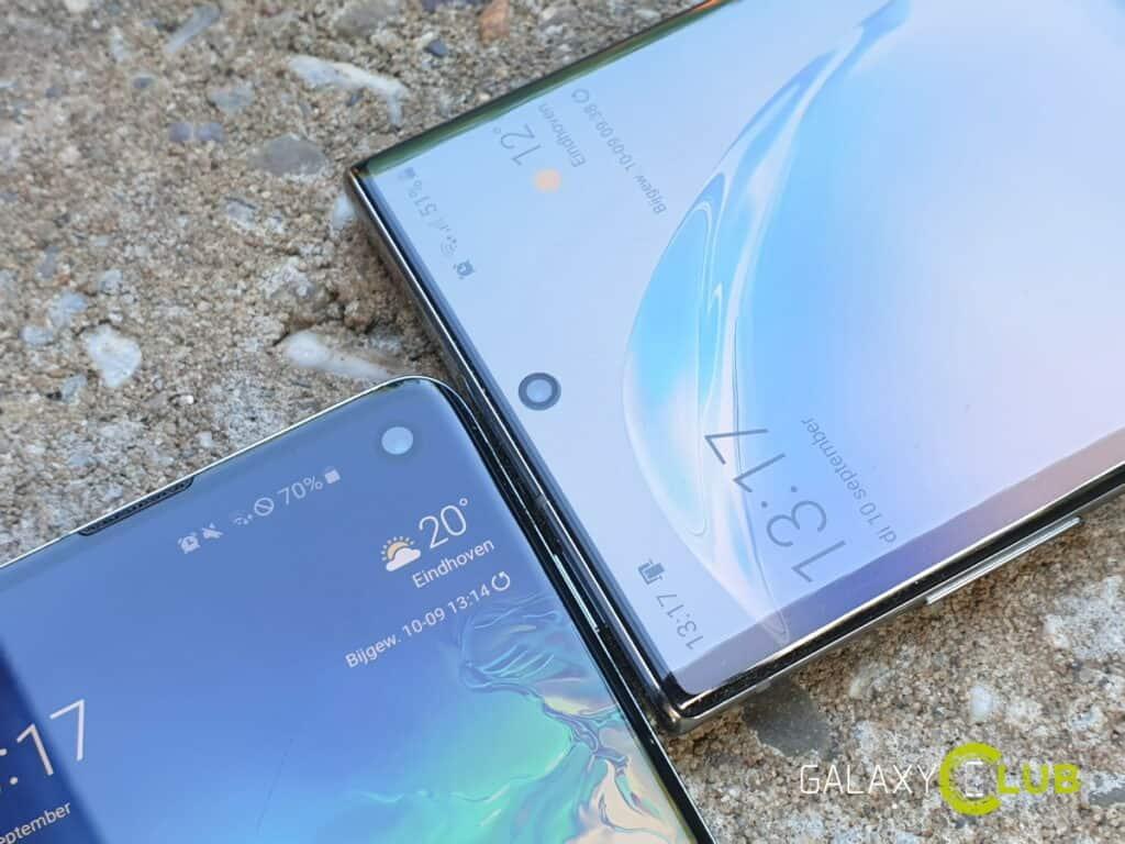 samsung: drie grote android upgrades vanaf galaxy s10 en note 10