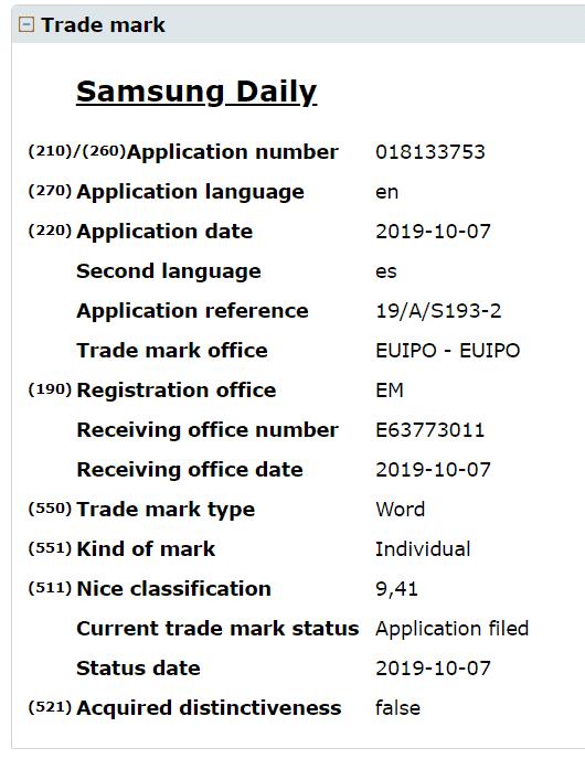 samsung daily merknaam 1