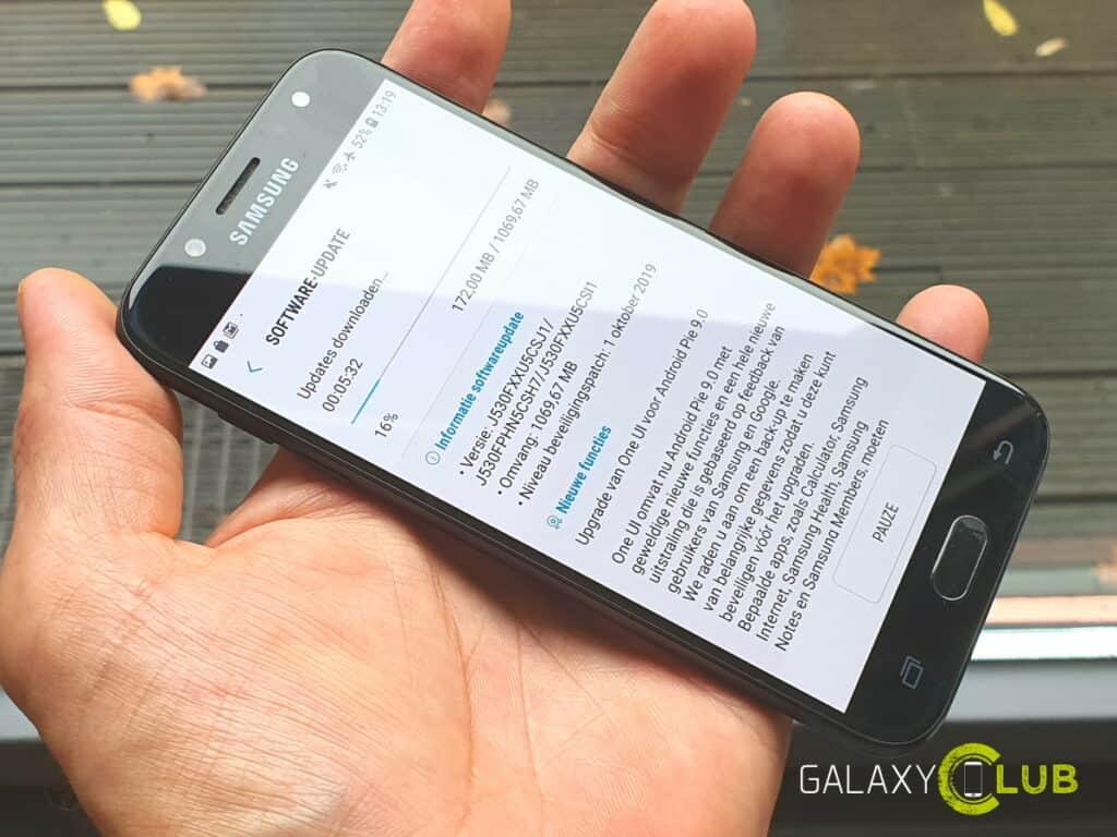 samsung galaxy j5 2017 update naar android 9 pie beschikbaar in nederland