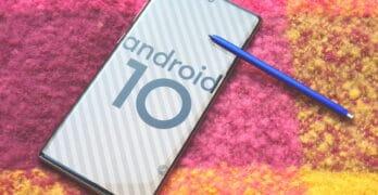 samsung galaxy android 10 update in nederland