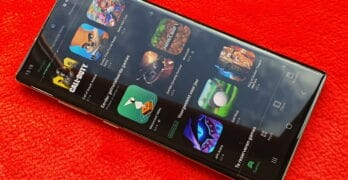 samsung galaxy nachtstand google play store