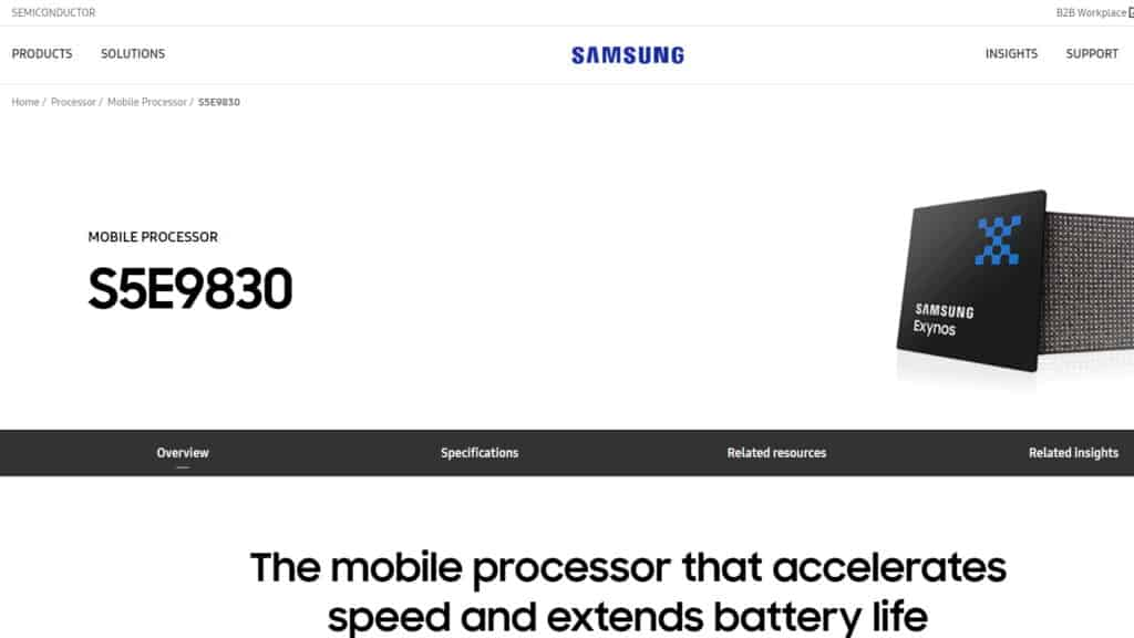 samsung galaxy s11 processor exynos 990 9830